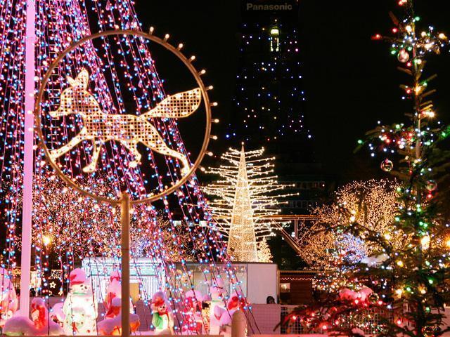札幌白彩燈