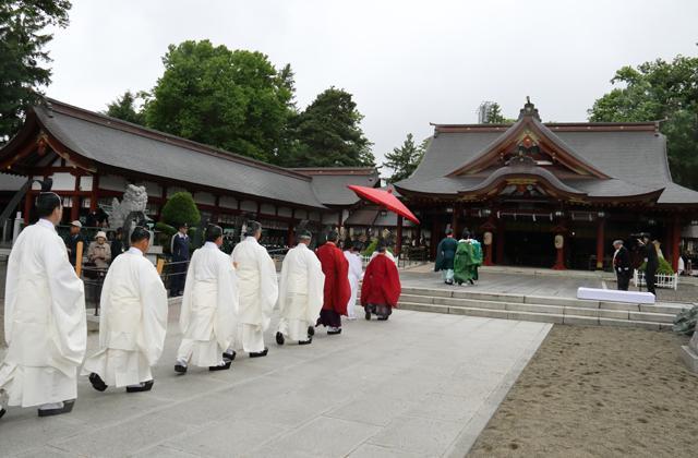 北海道護國神社慰霊大祭