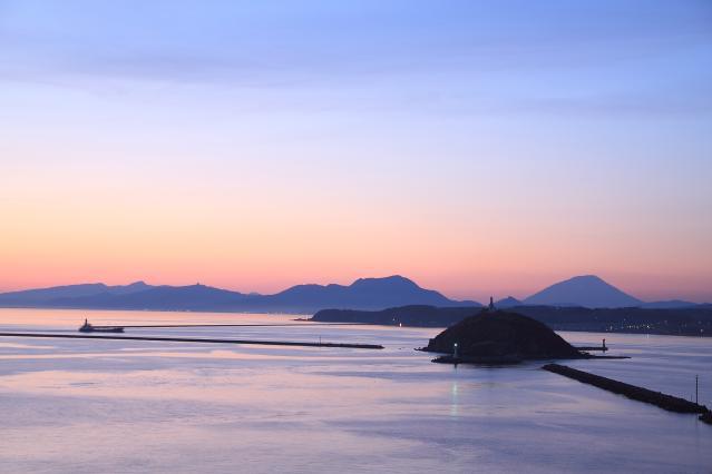 絵鞆岬展望台