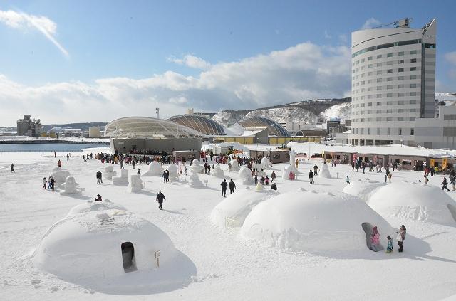 【中止】2021わっかない氷雪の広場