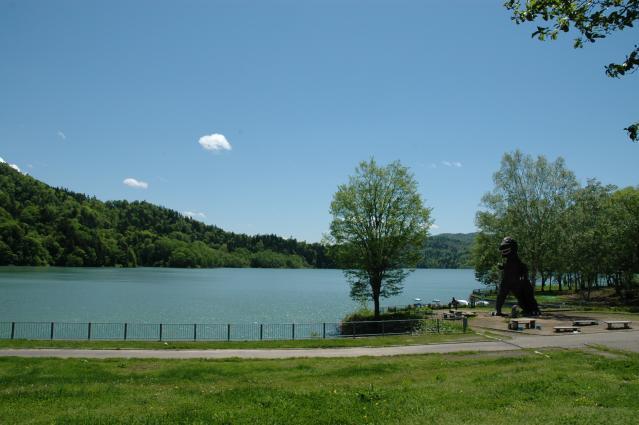 桂沢湖(体験観光)