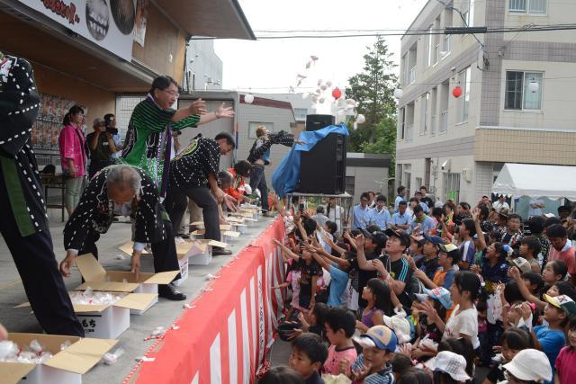 We worship Fukagawa in the summer