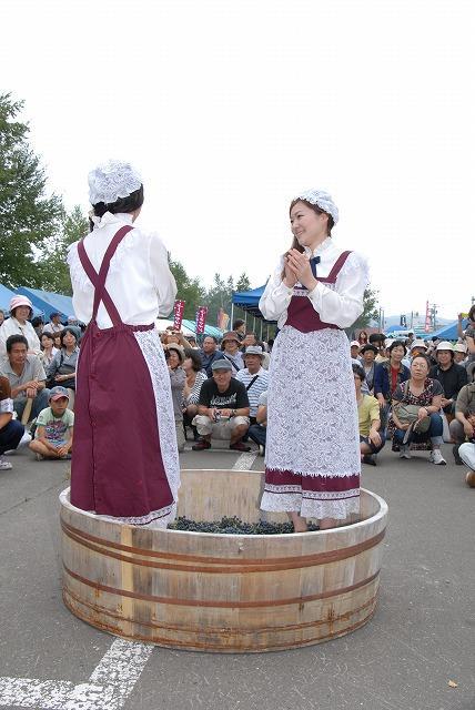 ふらのワインぶどう祭りinまちなか2018