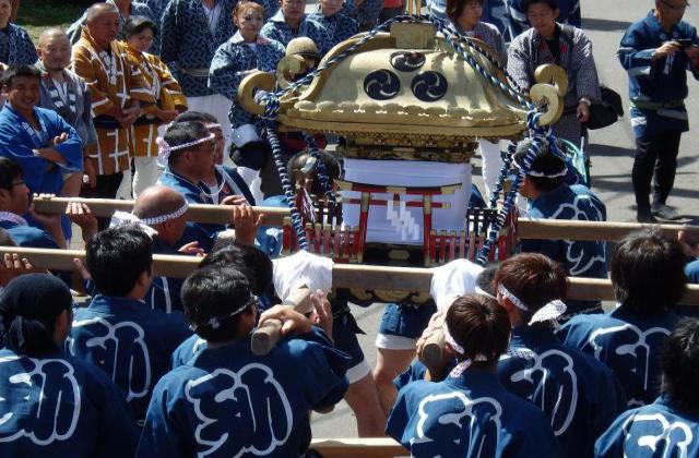 厚田神社例大祭