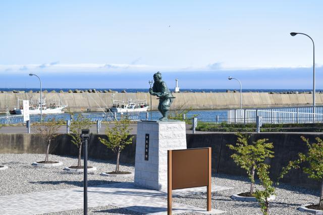 伊能忠敬北海道測量開始記念公園