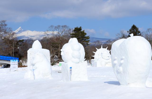 【2021年中止】大沼函館雪と氷の祭典