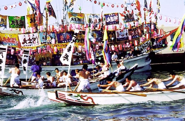 南かやべ ひろめ舟祭り