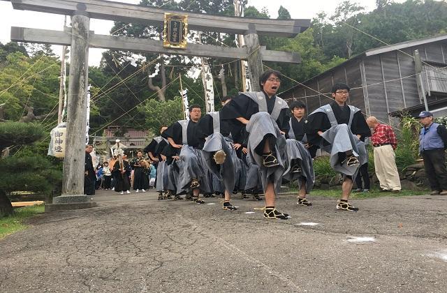 上ノ國八幡宮渡御祭(令和2年中止)