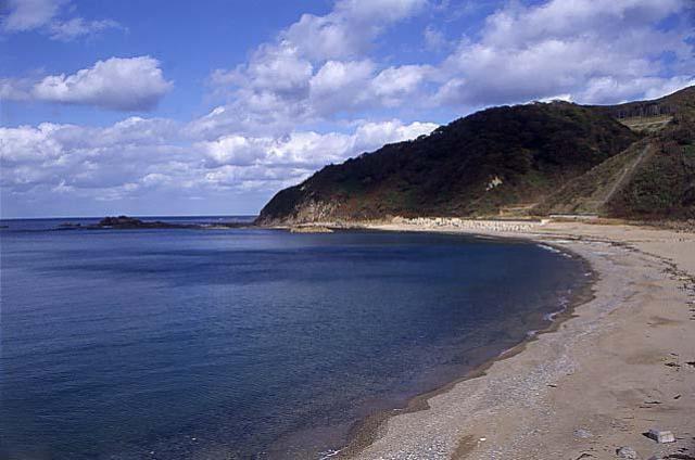 幌内海岸海水浴適地
