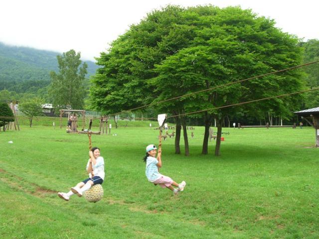 羊蹄山自然公園フィールドアスレチックコース