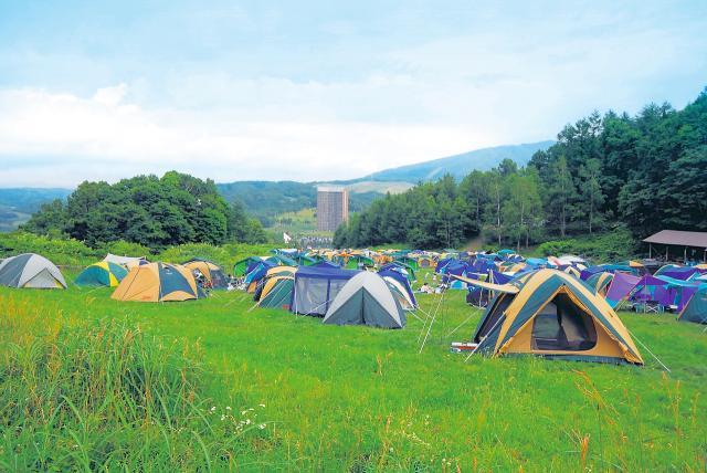 ルスツリゾート キャンプ村