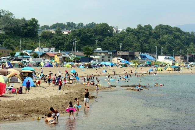 浜中・モイレ海水浴場
