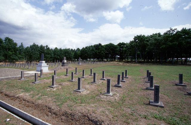 樺戸監獄死亡者の碑