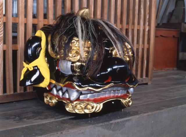 本願寺越中獅子舞