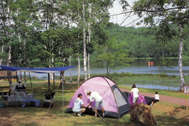 南丘森林公園キャンプ場