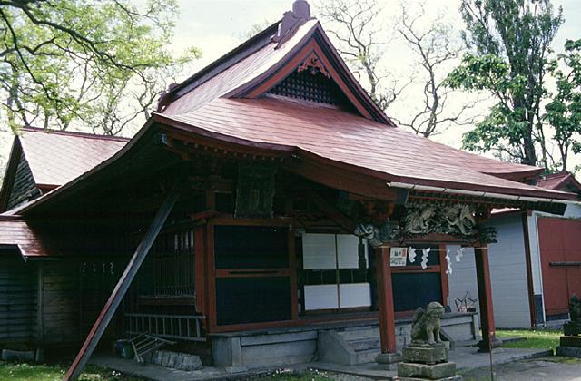厳島神社(北海道増毛町)