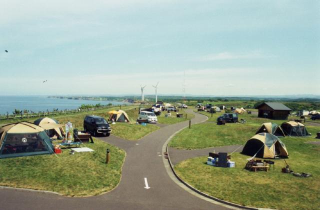 とままえ夕陽ケ丘オートキャンプ場