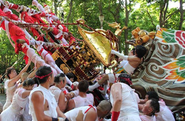 加賀獅子舞(町指定無形文化財)