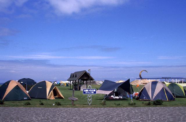 河川公園キャンプ場