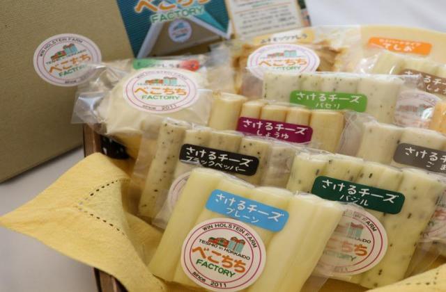 べこちちFACTORY手作りナチュラルチーズ各種