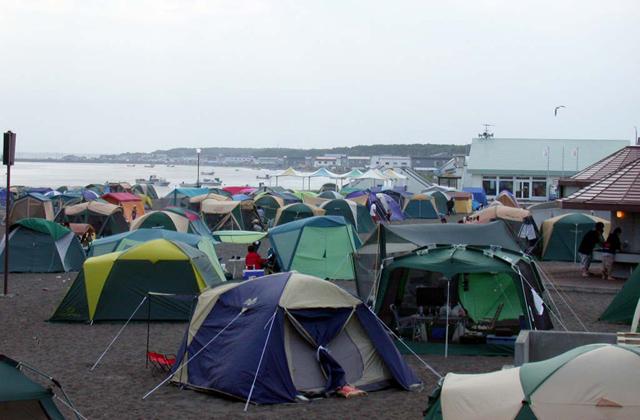 三里浜キャンプ場