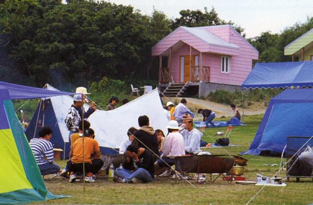 雄武町日の出岬キャンプ場