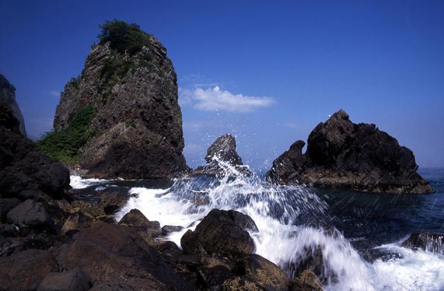 礼文華海岸