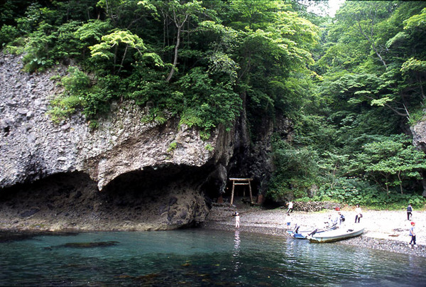 小幌洞窟遺跡(岩屋観音)