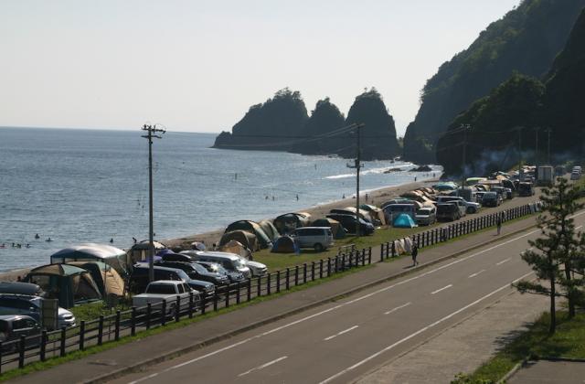 大岸シーサイド キャンプ場