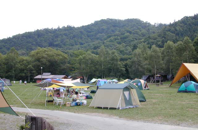 むかわ町営穂別キャンプ場
