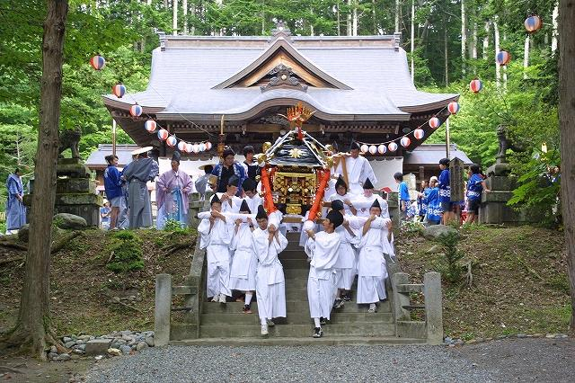 義経神社例大祭