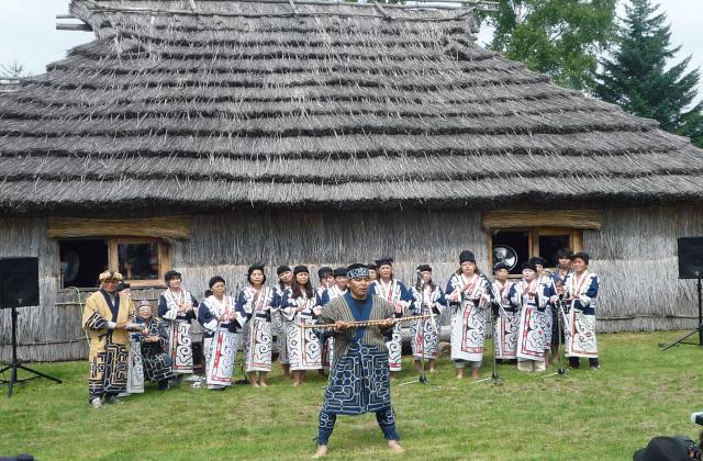 二風谷 アイヌ古式舞踊