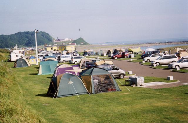 三石海浜公園 オートキャンプ場
