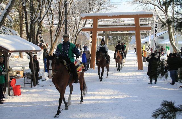 【開催未定】騎馬参拝