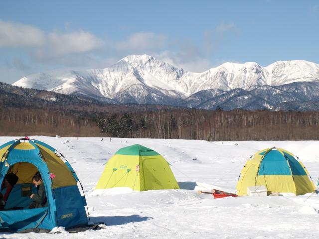 糠平湖(体験観光)