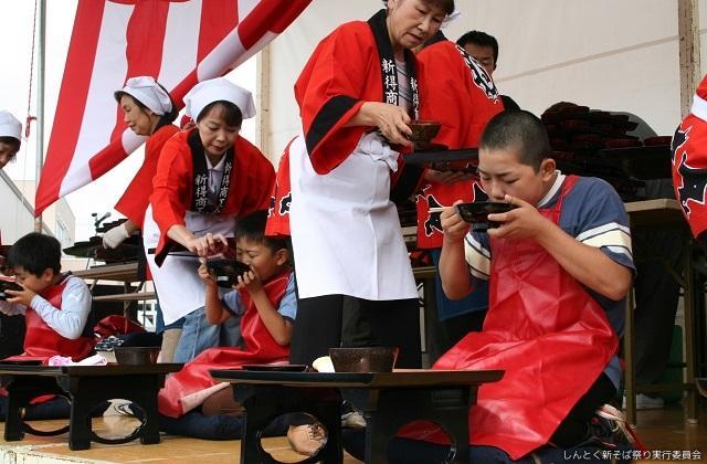 北海道そば祭り併催しんとく新そば祭り