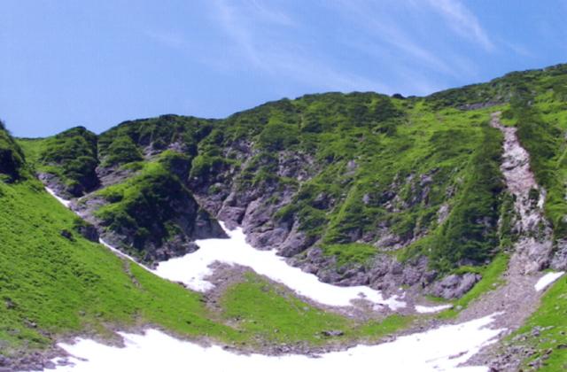 カムイエクウチカウシ山のカール
