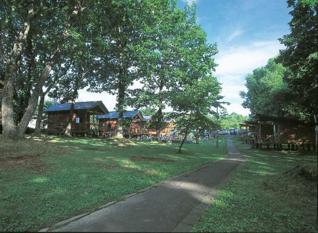 茂岩山自然公園キャンプ場