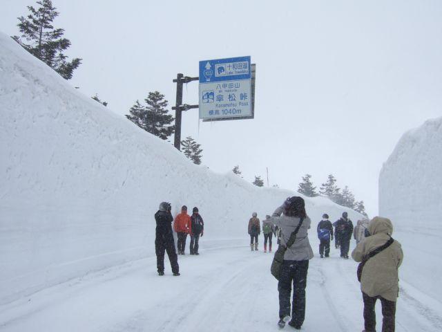 八甲田「雪の回廊と温泉」ウォーク