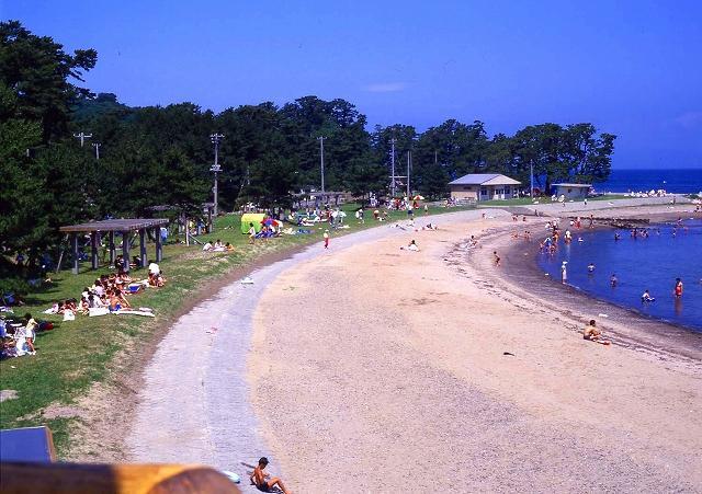 椿山海水浴場