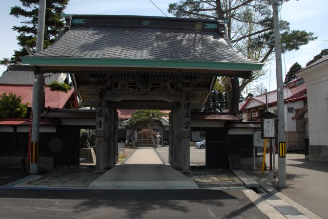 本覚寺(青森県今別町)