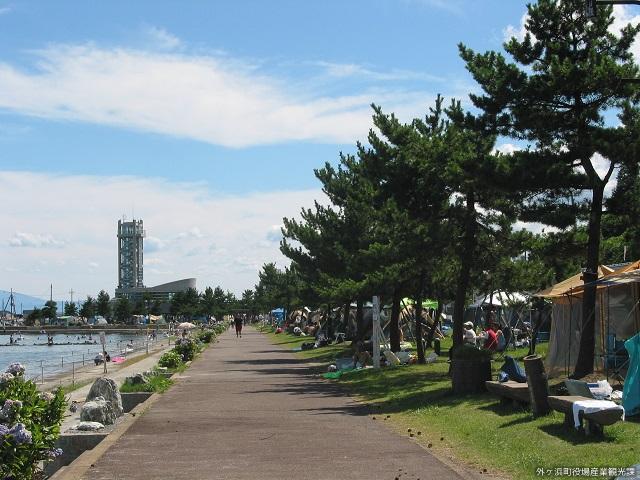 観瀾山公園海水浴場