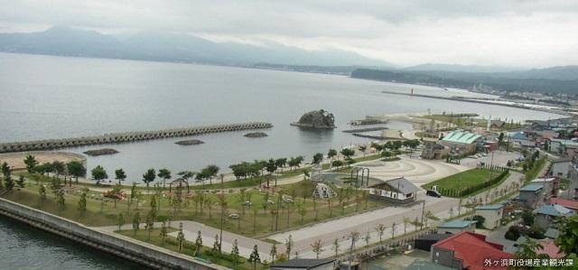 義経海浜公園海水浴場