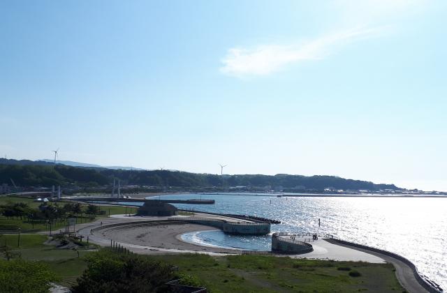 新設海浜公園