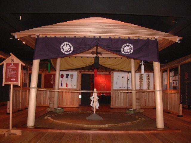 鰺ヶ沢相撲館