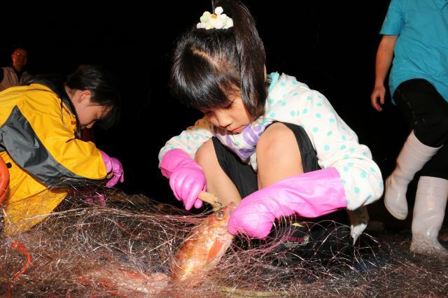 津輕海峽岩魚網取下,體驗的旅遊