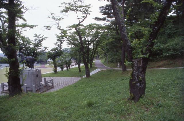 愛宕公園(青森県野辺地町)