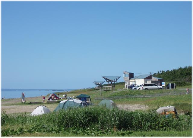 砂浜海岸キャンプ場