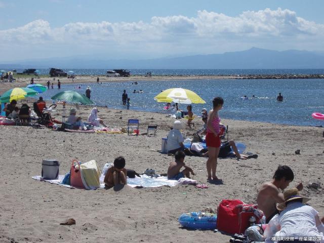 砂浜海岸海水浴場