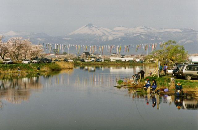 花切川へら鮒釣り